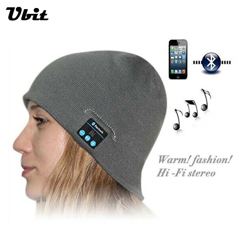Ubit Smart Wearable Devices Stereo Magic Music Hat Sport Bluetooth Wireless Headset With Answer Call For Iphone Smartphone Wearsmarty